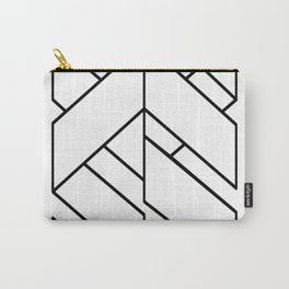 Enigmatic-Lines-(On-Light) Carry-All Pouch