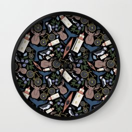 Acadia Pattern 2 Wall Clock
