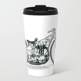 Board Track Racer Travel Mug