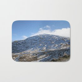 The Drive to Cardrona Ski Fields from Queenstown, New Zealand Bath Mat