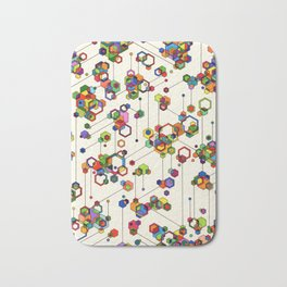 Connected Clusters Bath Mat