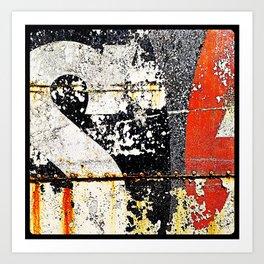 'TYPEDECAY' Art Print