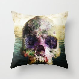 Perspective - Nine Lives Throw Pillow