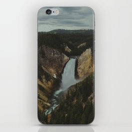 Yellowstone National Park Falls iPhone Skin