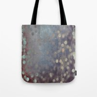 random Tote Bags featuring Random by Olivia Joy StClaire