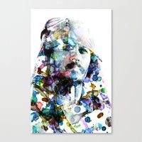 jack sparrow Canvas Prints featuring Jack Sparrow by NKlein Design