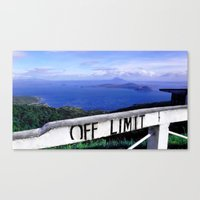 philippines Canvas Prints featuring OFF LIMIT (Philippines) by Julie Maxwell