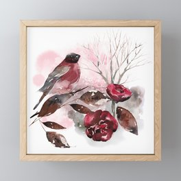 Spring Rests In The Heart Of Winter Framed Mini Art Print