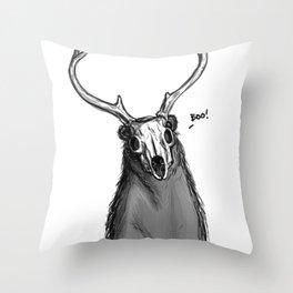 Boo Bear Throw Pillow