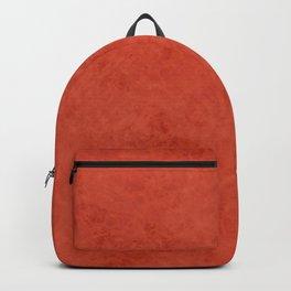Orange suede Backpack