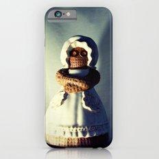 Menacing Ceramic/Burlap Horror Doll iPhone 6 Slim Case