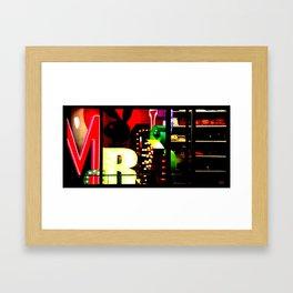 Window Shopping Framed Art Print