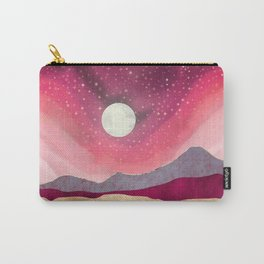 Scarlet Night Carry-All Pouch