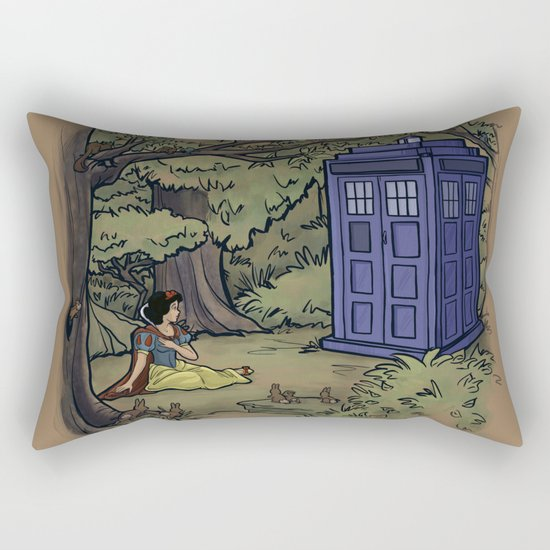 Escape from the Dark Forest Rectangular Pillow