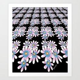 Flower Pattern Art Print