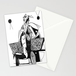 Dejected Stationery Cards
