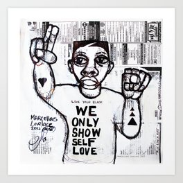 2013 Taught you how to be you  Art Print