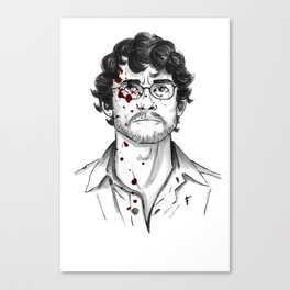Will Graham - Hannibal Tryptch Canvas Print
