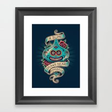 Slime de los Muertos Framed Art Print