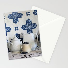 Blueberries and Ironstone Stationery Cards