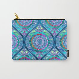 Radiant Boho Color Play Carry-All Pouch