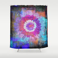 daisies Shower Curtains featuring Daisies by haroulita