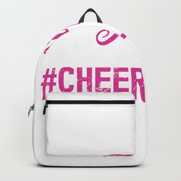 This Girl Will Flip Funny Cheerleading Handstand Backpack