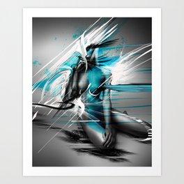 EXPRESSION_#001 Art Print