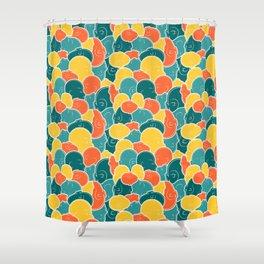 Smoosh Face Shower Curtain