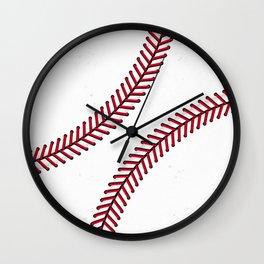 Fantasy Baseball Super Fan Home Run Wall Clock