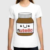nutella T-shirts featuring Nutella Monster by Tushietweet