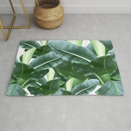 Banana plant | Jungle vibe | Wall hanging | Art print | Digital art Rug
