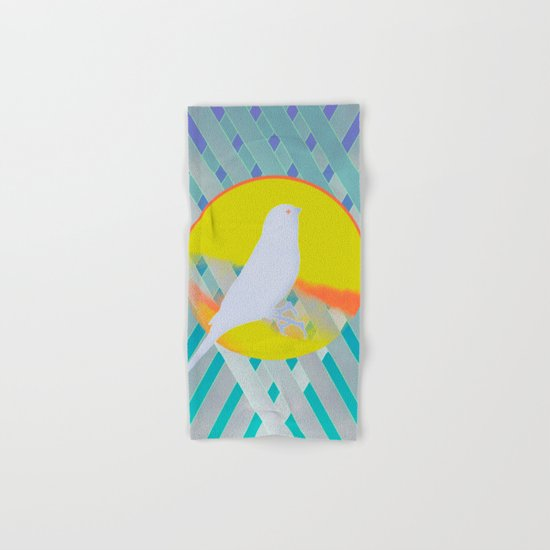 Bluebird waits summer Hand & Bath Towel