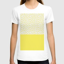 Triangles yellow T-shirt