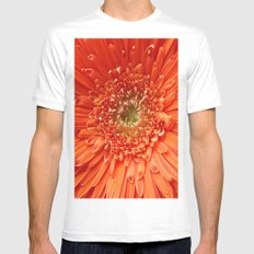 The Future's Bright..... White Mens Fitted Tee MEDIUM