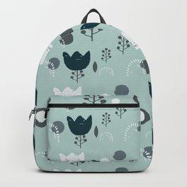 blue flow Backpack