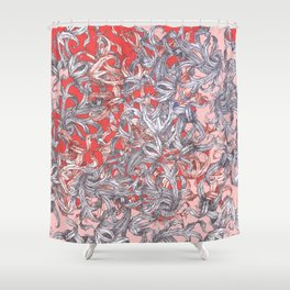 'A world of made is not a world of born' Shower Curtain