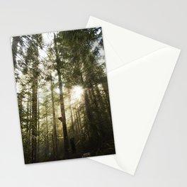 Washington Light Rays Stationery Cards