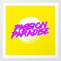 Disco // Passion Paradise Art Print