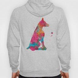 Colorful Doberman Hoody