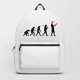 Boxing Evolution Art Backpack