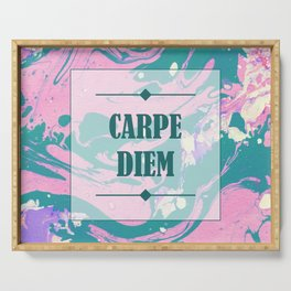 CARPE DIEM Serving Tray