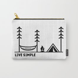 Live Simple Carry-All Pouch