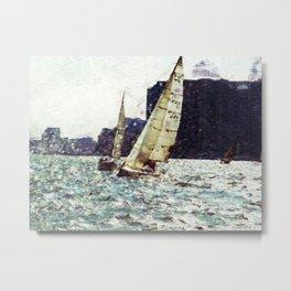 The Yachting Club Metal Print