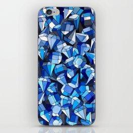 Fond Bleu iPhone Skin