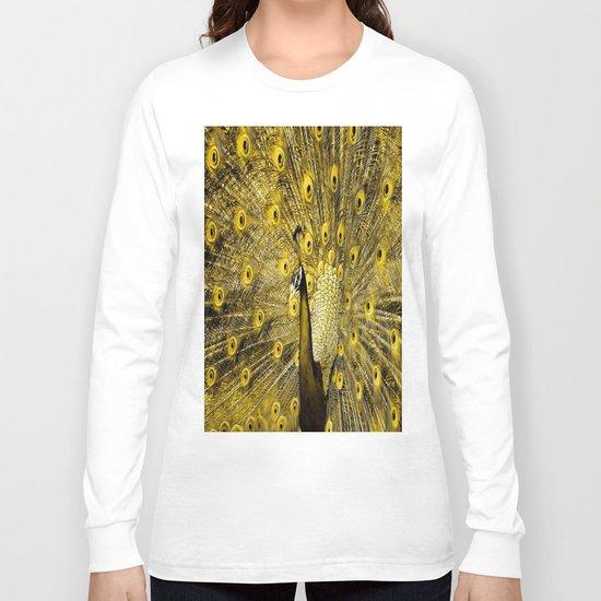 yellow art Long Sleeve T-shirt