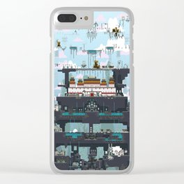 Bardo of Becoming Clear iPhone Case