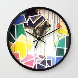 Color Theory Wall Clock