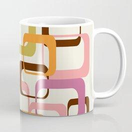 Mid Century Mod Shapes Coffee Mug