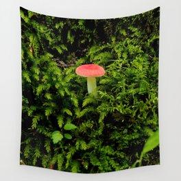 Lonely Mushroom Wall Tapestry